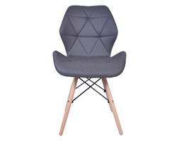 Krzesło nowoczesne Magnolia - grafitowe