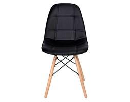 Krzesło nowoczesne Shirley czarne