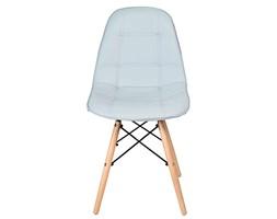 Krzesło nowoczesne Shirley jasno szare