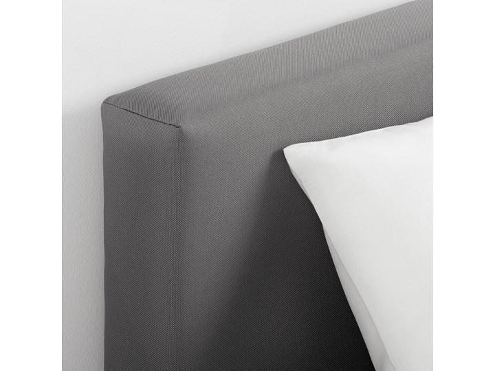 SVELGEN Rama łóżka z materacem Rozmiar materaca 90x200 cm Kolor Szary