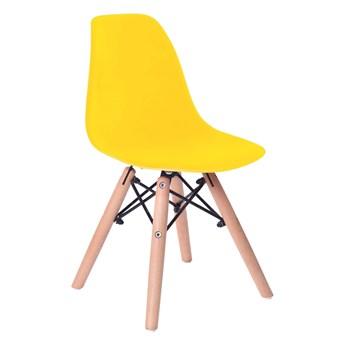Krzesło Paris Kids DSW - żółty