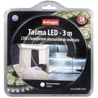 Taśma LED ACTIVEJET AJE-LED Stripe 3m