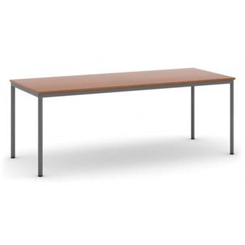 Stół do jadalni 2000 x 800 mm, blat czereśnia, nogi ciemnoszare