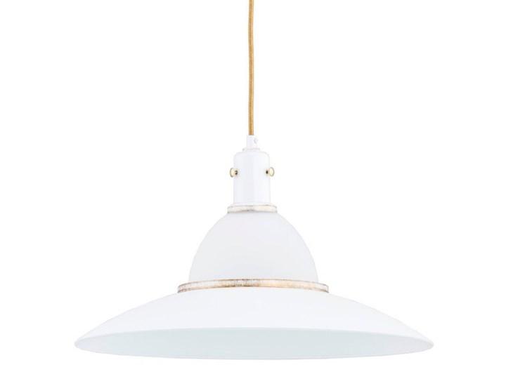 Nowoczesny lampa sufitowa MILEY I złoty śr. 42cm Szkło Metal Kolor Biały