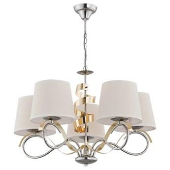 Nowoczesna lampa sufitowa SANDRA V chrom śr. 69cm