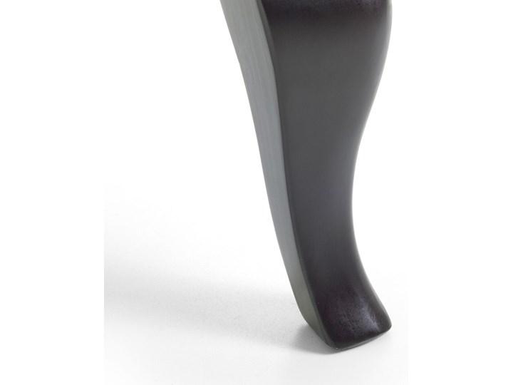 Fotel uszak beżowy tapicerowany pikowany wysokie oparcie vintage retro salon Fotel pikowany Tworzywo sztuczne Szerokość 66 cm Głębokość 78 cm Fotel tradycyjny Wysokość 100 cm Drewno Tkanina Styl Nowoczesny
