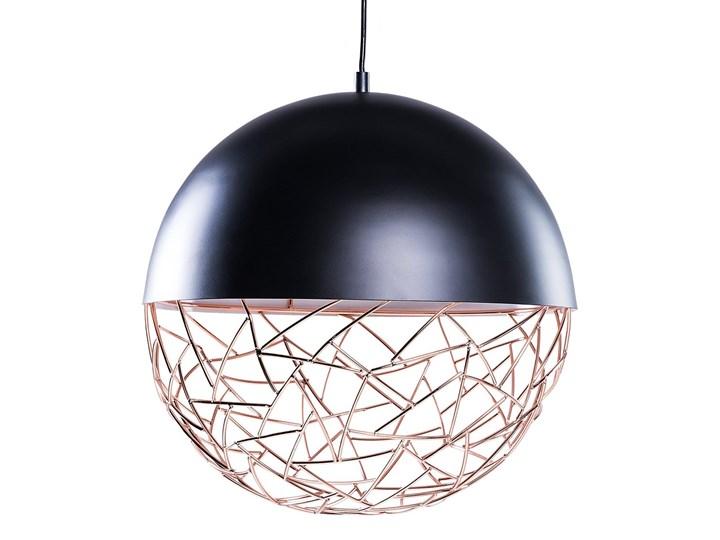 Lampa czarna - sufitowa - żyrandol - lampa wisząca - PADMA