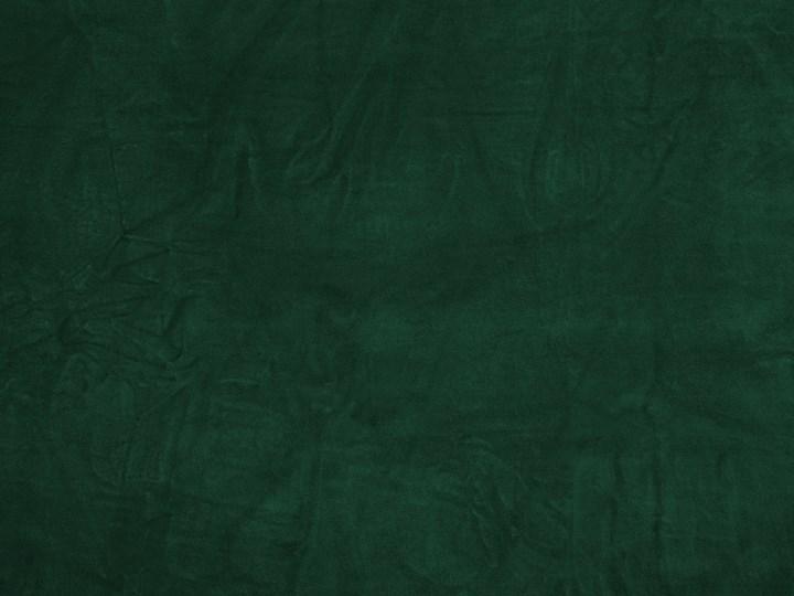 Łóżko zielone welurowe 180 x 200 cm ze stelażem i zagłówkiem Łóżko tapicerowane Kolor Czarny Kolor Zielony