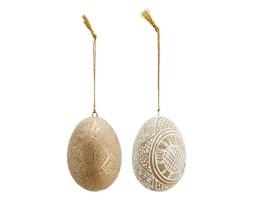 Madam Stoltz - Zestaw dwóch jajek dekoracyjnych