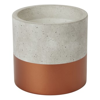 Doniczka betonowa GoodHome 12 cm miedziana