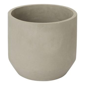 Doniczka betonowa GoodHome okrągła 24 cm