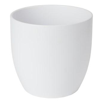 Doniczka ceramiczna GoodHome 21 cm biała