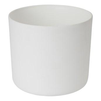 Doniczka plastikowa GoodHome 21 cm biała