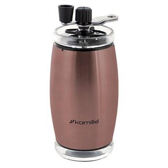 Młynek do kawy ręczny (miedziany) KM-7029C