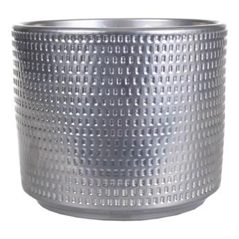 Osłonka doniczki Cermax Calla cylinder 12 cm chrom