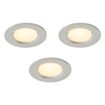 Oczko LED Colours Thorold 2700/4000 K okrągłe chrom 3 szt.