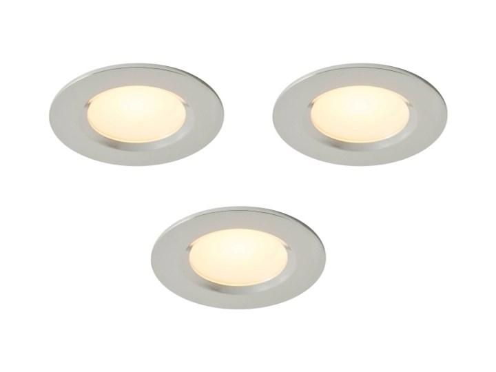 Oczko LED Colours Thorold 2700/4000 K okrągłe chrom 3 szt. Oprawa led Oprawa stropowa Kategoria Oprawy oświetleniowe