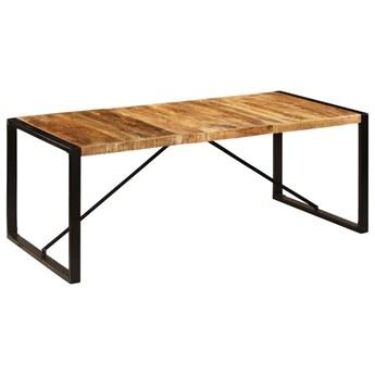 Industrialny stół drewniany 100x200 – Veriz 5X