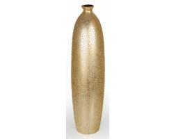 Nowoczesny złoty wazon