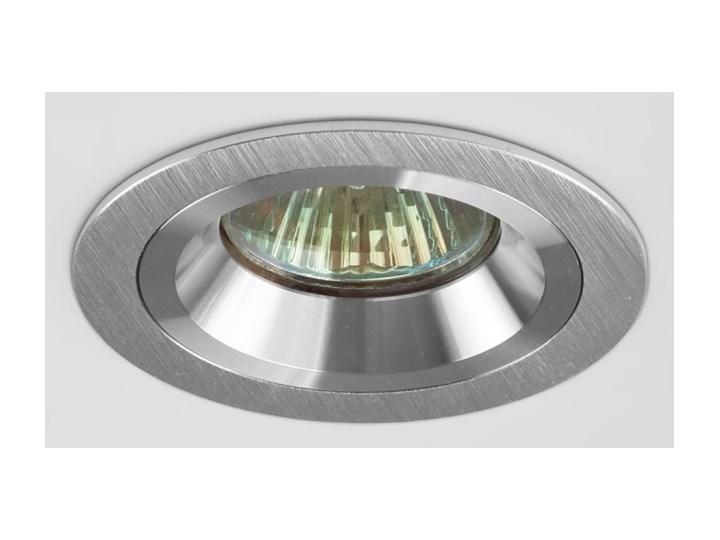 Okrągła lampa stała podtynkowa spot MR16 aluminium - oprawydladomu.pl Oprawa led Kategoria Oprawy oświetleniowe Oprawa stropowa Kwadratowe Oprawa halogenowa Kolor Srebrny