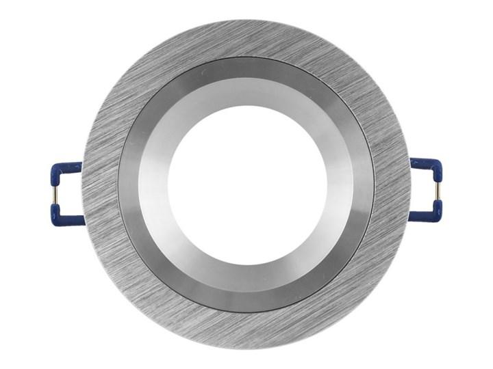Okrągła lampa stała podtynkowa spot MR16 aluminium - oprawydladomu.pl Oprawa led Kwadratowe Oprawa halogenowa Oprawa stropowa Kategoria Oprawy oświetleniowe