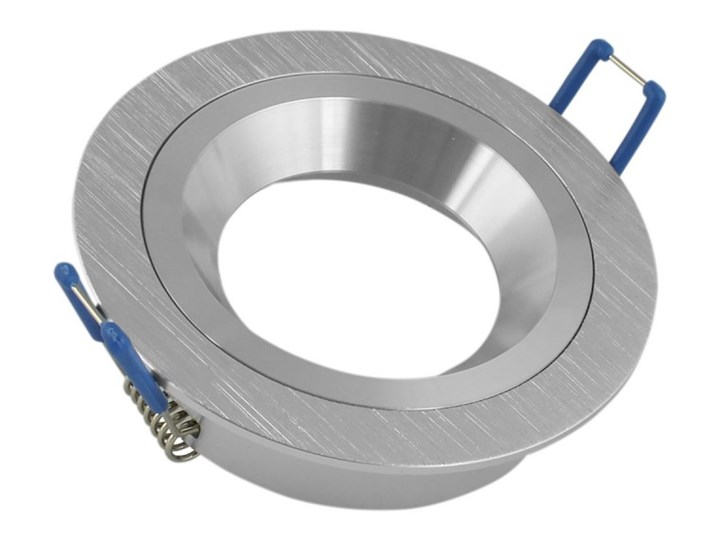 Okrągła lampa stała podtynkowa spot MR16 aluminium - oprawydladomu.pl Oprawa stropowa Oprawa halogenowa Oprawa led Kwadratowe Kategoria Oprawy oświetleniowe