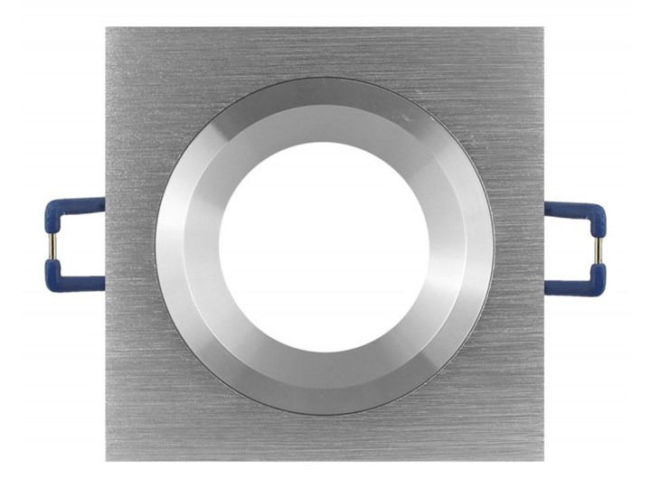 Kwadratowa lampa sufitowa podtynkowa aluminium - oprawydladomu.pl Oprawa stropowa Kwadratowe Oprawa halogenowa Oprawa led Kategoria Oprawy oświetleniowe
