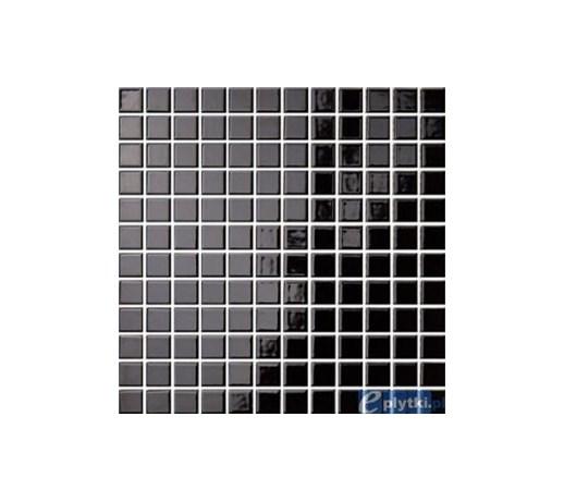 Opoczno Premium Palette Czarna BŁyszczĄca Gres Mozaika