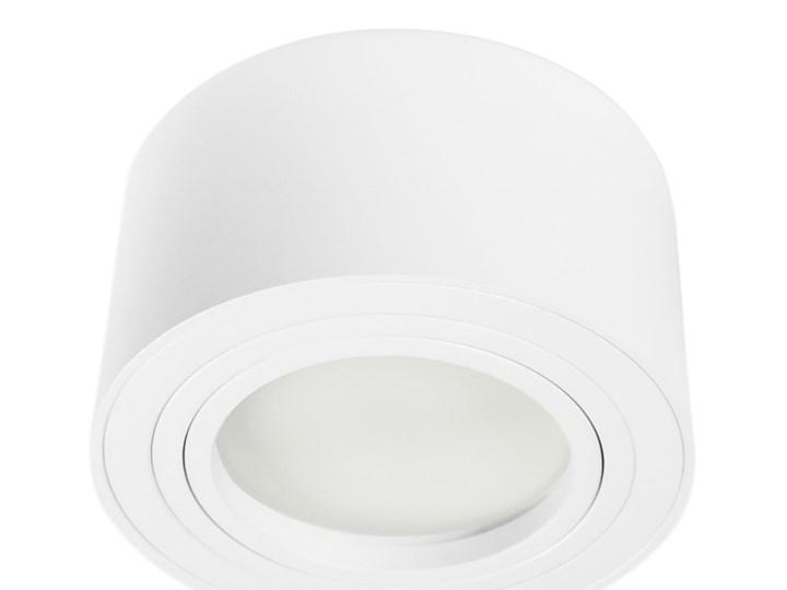 Nowoczesna oprawa sufitowa GX53 okrągła ruchoma biała biały mat aluminiowa Oprawa ruchoma Oprawa halogenowa Oprawa stropowa Oprawa led Okrągłe Kategoria Oprawy oświetleniowe