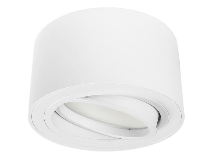 Nowoczesna oprawa sufitowa GX53 okrągła ruchoma biała biały mat aluminiowa Okrągłe Oprawa halogenowa Oprawa led Oprawa ruchoma Oprawa stropowa Kategoria Oprawy oświetleniowe