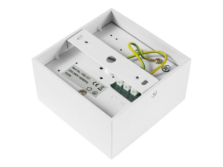 Nowoczesna oprawa sufitowa GX53 kwadrat ruchoma biała biały mat aluminiowa Oprawa halogenowa Oprawa ruchoma Oprawa led Kwadratowe Oprawa stropowa Kategoria Oprawy oświetleniowe