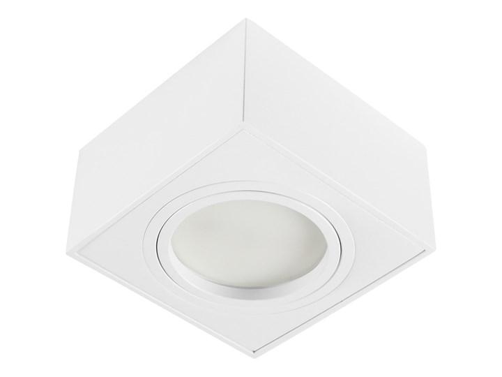 Nowoczesna oprawa sufitowa GX53 kwadrat ruchoma biała biały mat aluminiowa Oprawa led Oprawa ruchoma Oprawa halogenowa Kwadratowe Oprawa stropowa Kategoria Oprawy oświetleniowe