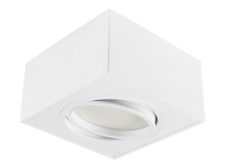 Nowoczesna oprawa sufitowa GX53 kwadrat ruchoma biała biały mat aluminiowa Oprawa ruchoma Oprawa stropowa Oprawa halogenowa Oprawa led Kwadratowe Kategoria Oprawy oświetleniowe