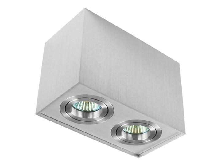 Nowoczesna podwójna sufitowa oprawa natynkowa prostokąt MR16 aluminium aluminiowa GU10 Oprawa stropowa Oprawa led Prostokątne Oprawa halogenowa Kategoria Oprawy oświetleniowe