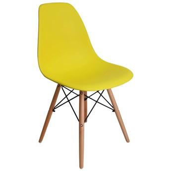 Krzesło Paris DSW - żółty