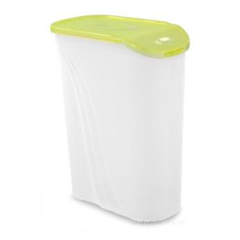 POJEMNIK z otwieraną, pokrywką - 1,3 litra zielony