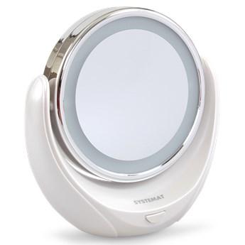 Kosmetyczne lusterko powiększające z podświetleniem LED SYSTEMAT