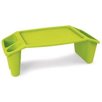 Sofastolik, przenośny stolik zielony