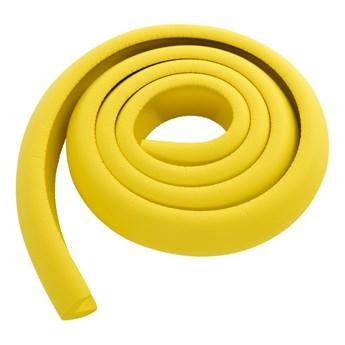 PAS ZABEZPIECZAJĄCY krawędzie mebli, długość 2 m żółty