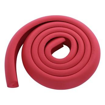 PAS ZABEZPIECZAJĄCY krawędzie mebli, długość 2 m czerwony