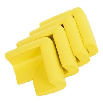 4 szt. NAROŻNIK osłaniający rogi mebli żółty