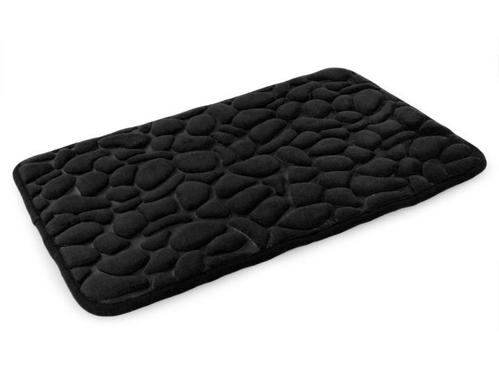 Dywanik łazienkowy ANATOMIXX czarny, 60 x 40 cm Mikrofibra 40x60 cm
