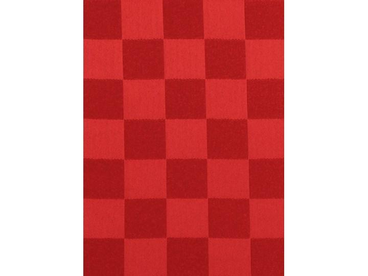 KARO OBRUS 140 x 180 cm czerwony