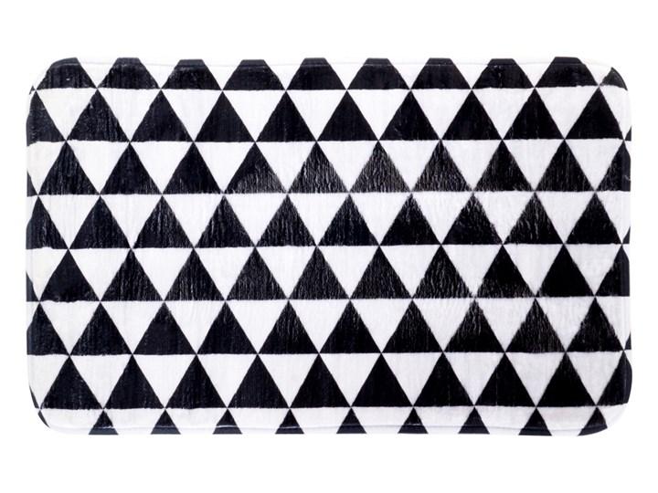Dywanik łazienkowy black&white, 70 x 45 cm Mikrofibra 45x70 cm Kolor Czarny Kolor Biały