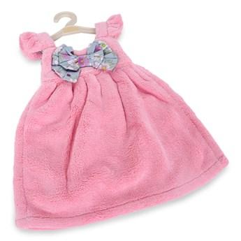 RĘCZNIK w kształcie sukienki, LAGOON TOUCH pink