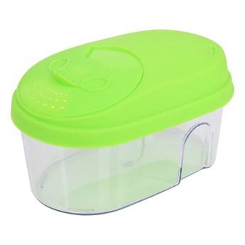 Pudełko na żywność, z kolorowym wiekiem zielone, 500 ml