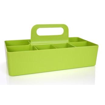 PRZENIEŚTO praktyczny organizer, do przenoszenia i przechowywania zielony