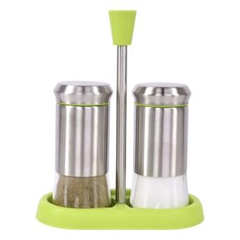 3-elementowy zestaw PEPPER&SALT zielony