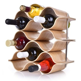 BAMBOO winoteka/stojak na wino  GoEco®, na 9 butelek