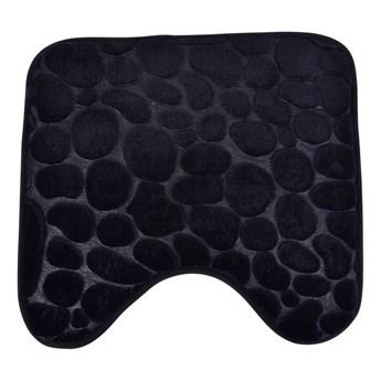 Dywanik WC czarny, 45 x 45 cm